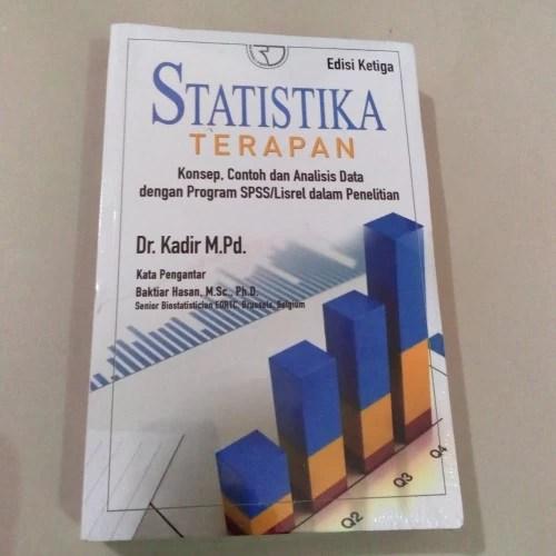 Cara mudah dan ccpat menganalisis data widarto. Jual Buku Statistika Terapan Kadir Dr Jakarta Timur Janitrabooks Tokopedia