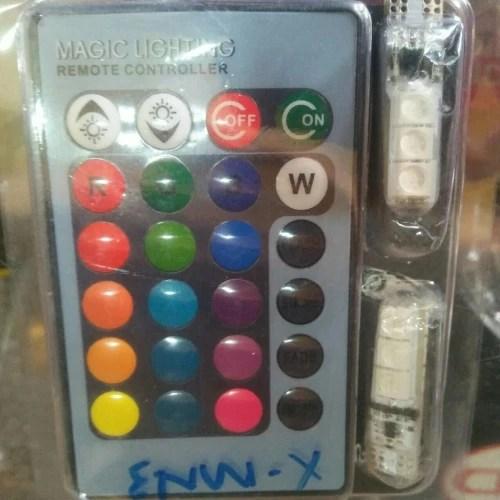 magic lighting 24 keys remote controller lampu led di istana motor cibubur tokopedia