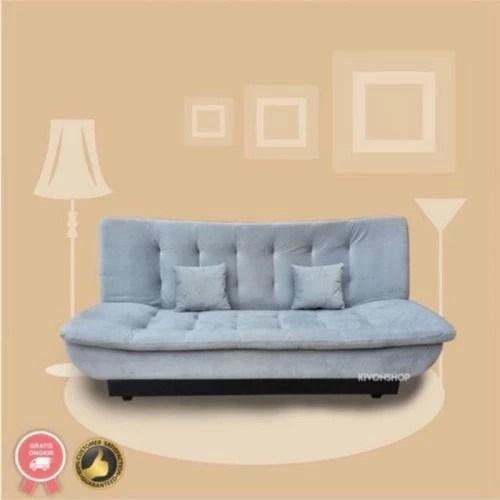 promo sofabed flush top sofa bed pillow top super nyaman minimalis di lastore2 tokopedia