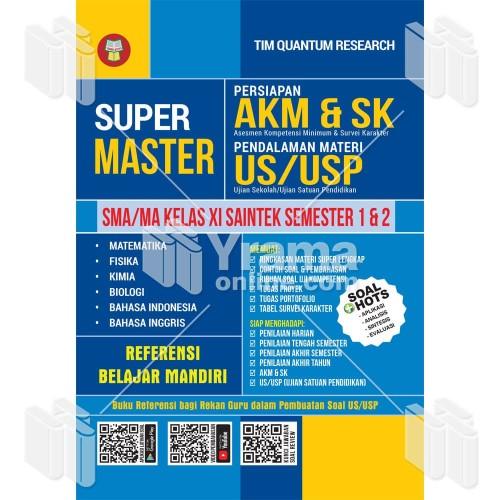 Download kumpulan soal pat kimia sma. Jual Buku Super Master Akm Sk Dan Us Usp Sma Ma Kelas Xi Saintek Kab Bandung Warung Literasi Tokopedia