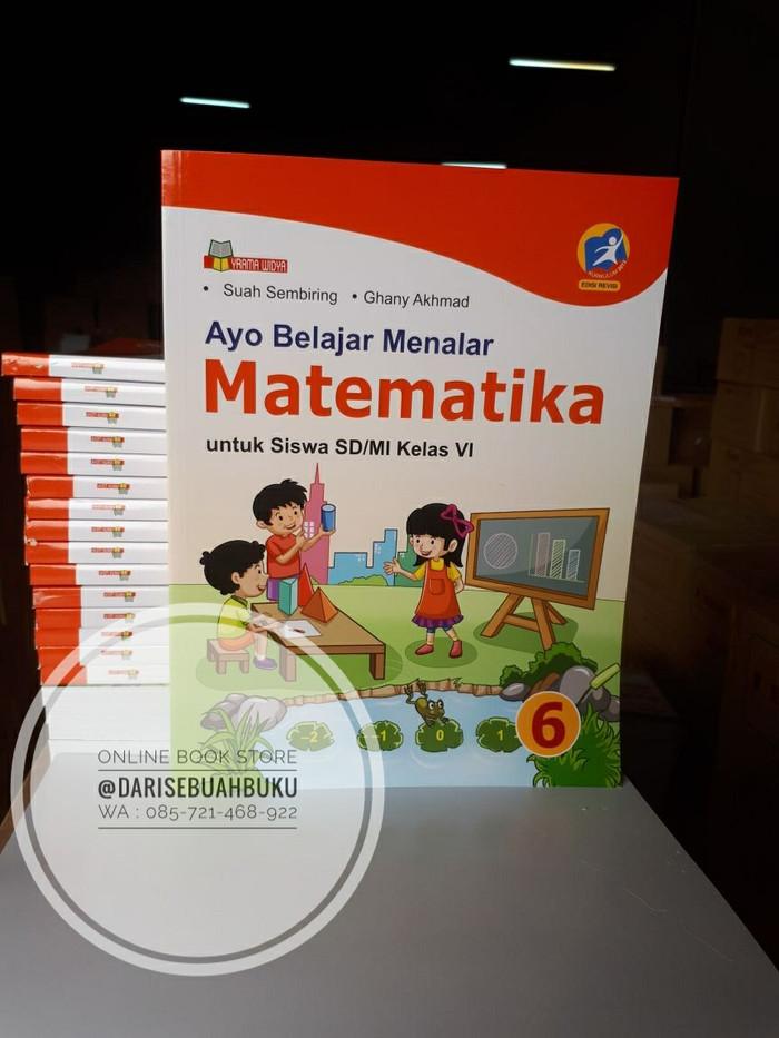Buku ayo belajar menalar matematika untuk siswa sd mi kelas vi kurikulum 2013 revisi. Jual Ayo Belajar Menalar Matematika Sd Mi Vi K 13 Revisi 2016 Kab Bandung Darisebuahbuku Bandung Tokopedia
