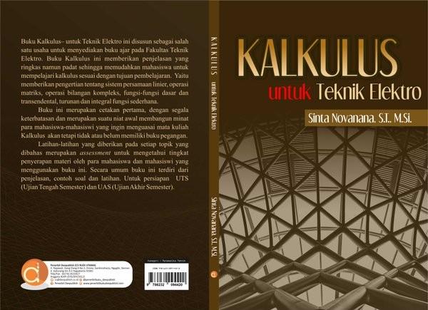 3, tin2110314, kalkulus i, 4. Jual Buku Kalkulus Untuk Teknik Elektro Sinta Novanana Jakarta Barat Suci Ia Tokopedia