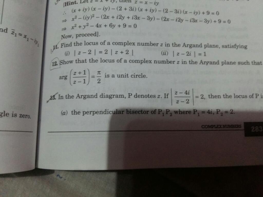 Complex Numbers And Quadratic Equations Mathematics