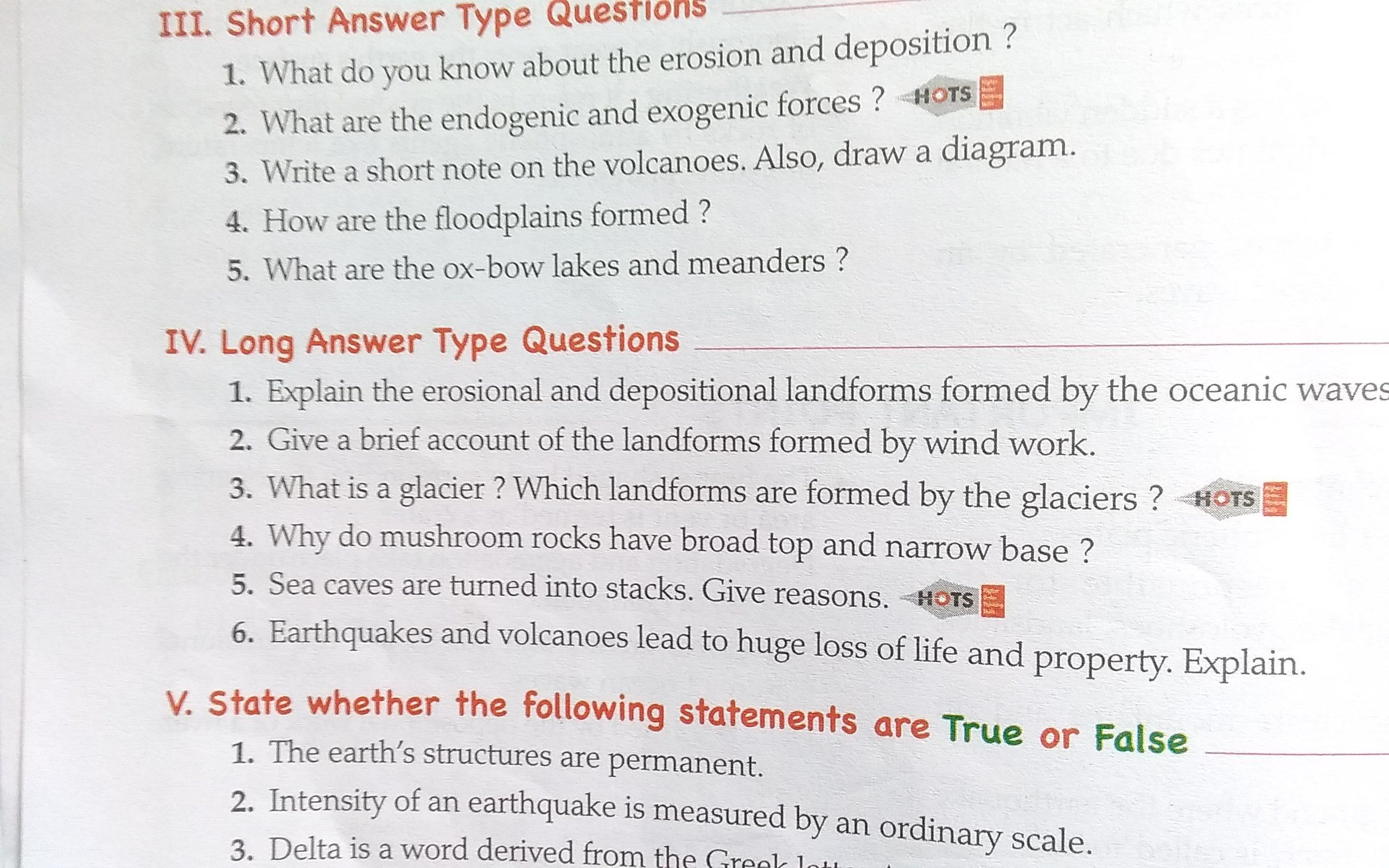 Give Brief Account Of The Landforms Formed By Wind Work Bro2z4zz Geography