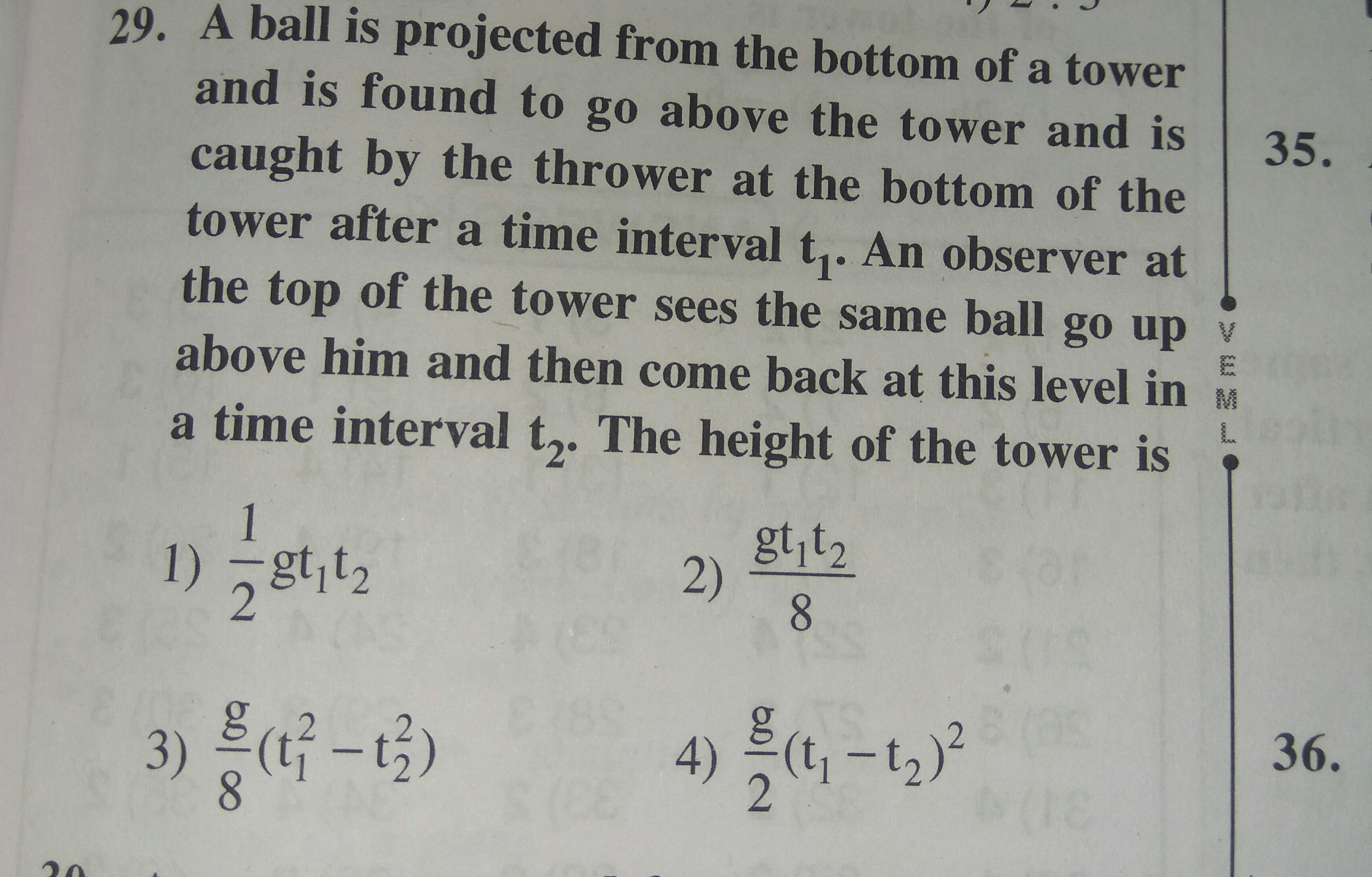 Motion In One Dimension Questions And Answers