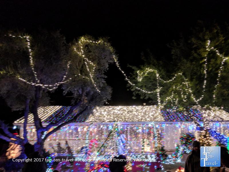 Zoo Lights Tucson 2017