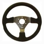 Reverie Rally 330 Carbon Steering Wheel Momo Sparco Omp Drilled Alcantara Trimmed Torqued