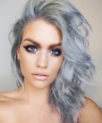 Gray Hair With Blue Eyes Want Colorful Hair This Is Your