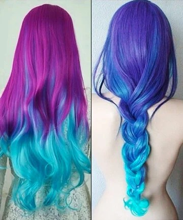 Cosmic Ombr 17 Galaxy Hair Ideas That Bend The Space