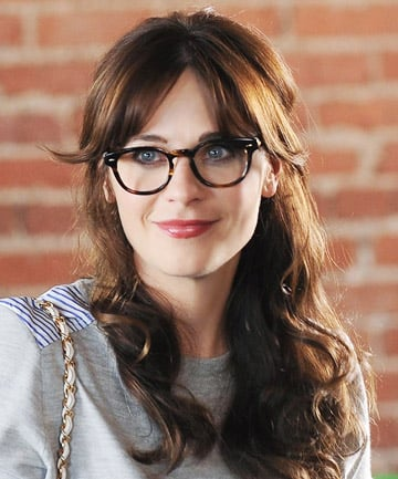 No 1 Zooey Deschanels Blunt Bangs The 24 Most Iconic