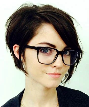Edgy Stacked Bob