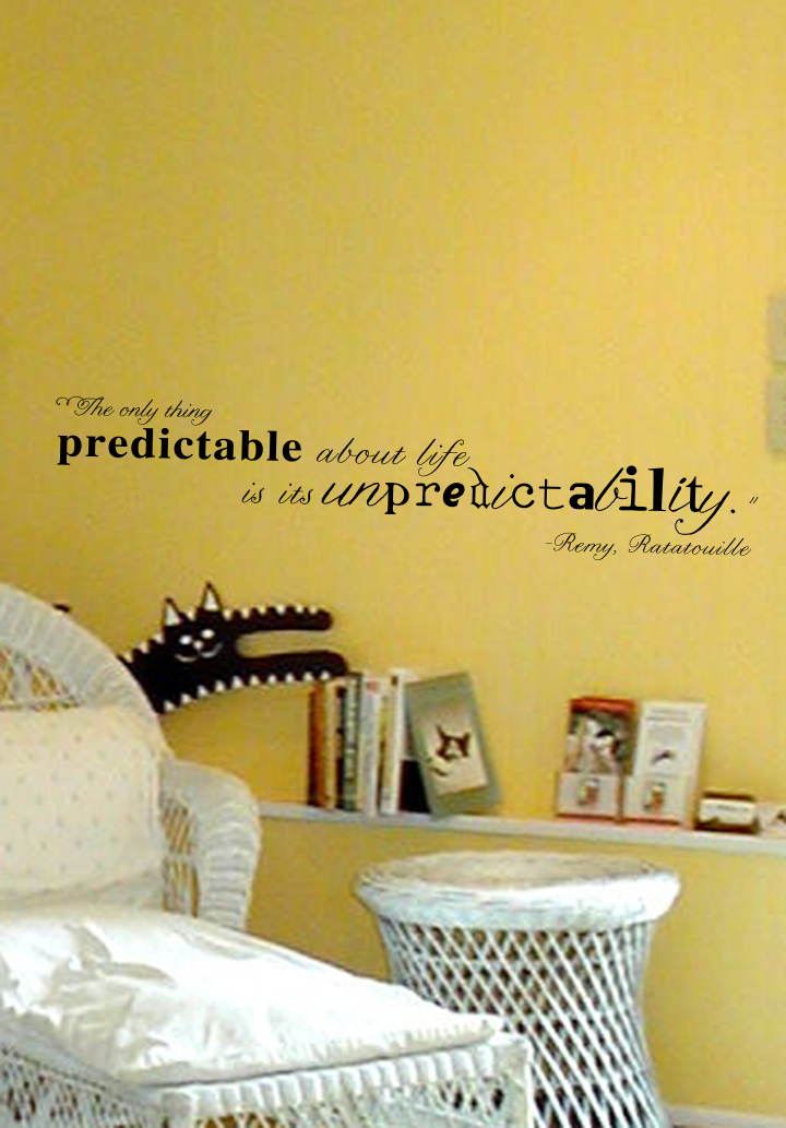 Ratatouille Quote Wall Decal Trading Phrases