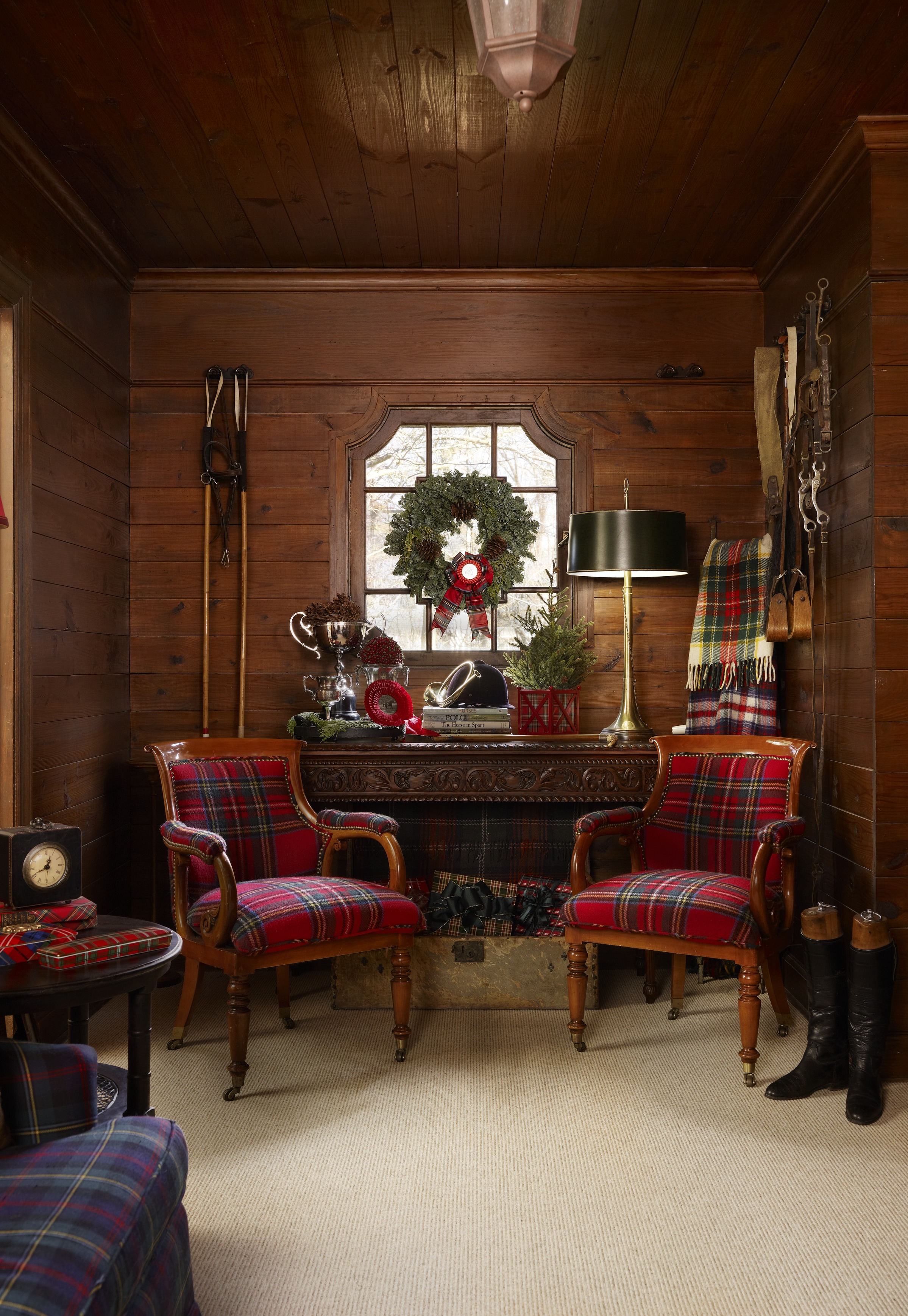 Rustic Christmas Décor | Traditional Home on Rustic Traditional Decor  id=14402