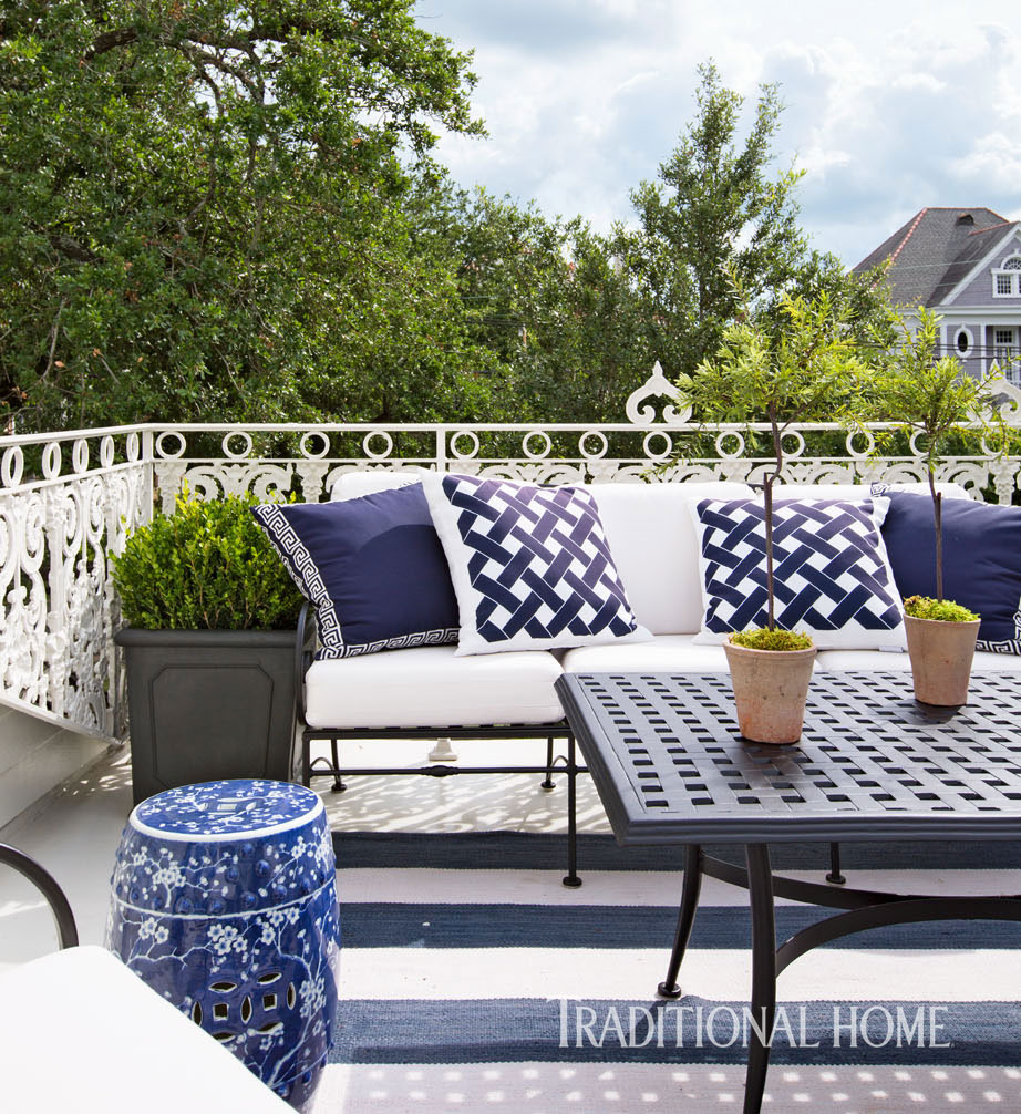 Stylish New Orleans Showhouse Traditional Home