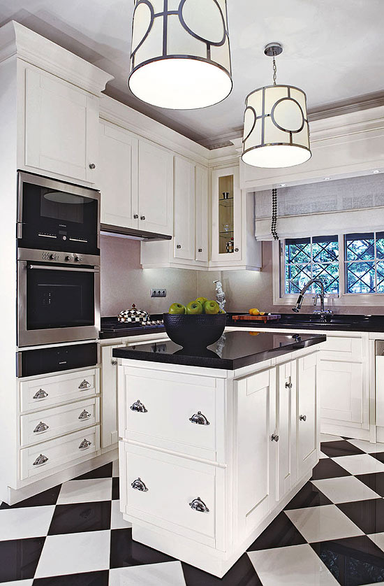 Beautiful, Efficient Small Kitchens | Traditional Home on Tiny Kitchen Remodel Ideas  id=46182