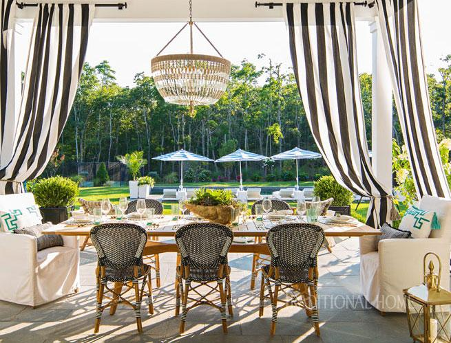 Alfresco Style At The Hampton Designer Showhouse Traditional Home