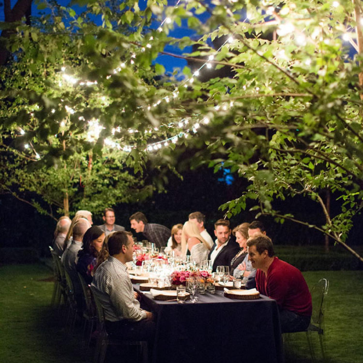 Dinner Party Celebrating The Autumn Equinox Traditional Home