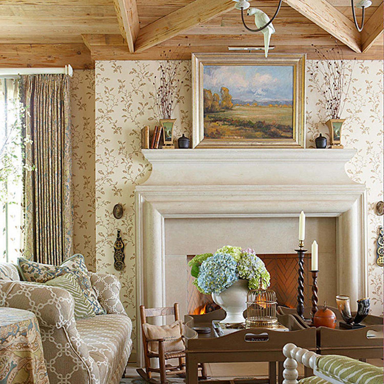 Faudree Inspired Design In A Sunroom Traditional Home