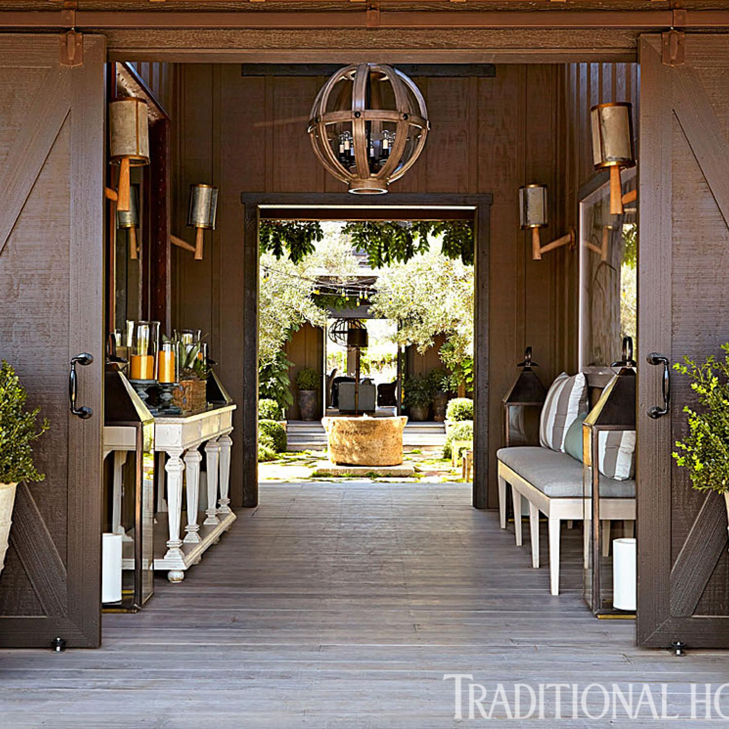 Easy Living In A Stylish California Home Traditional Home