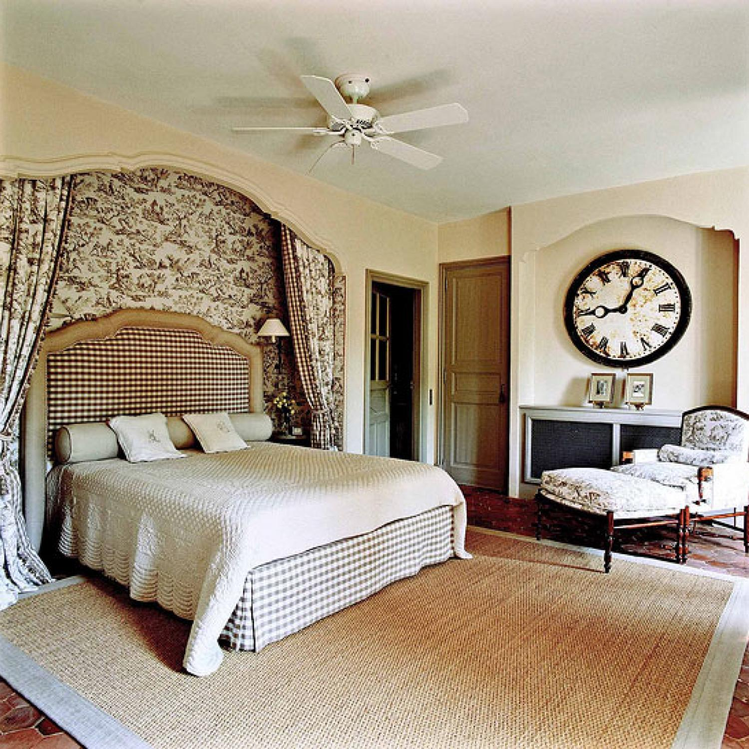 Bedroom Decorating Ideas: Totally Toile | Traditional Home on Bedroom Decoration Ideas  id=19137