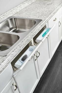 rev a shelf ld 6572 11 11 1 sink base organizers white pull out organizers kitchen dining