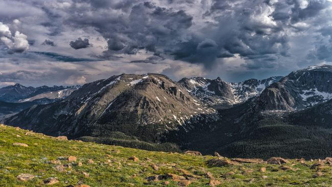 Storm in Rocky Mountain National Park