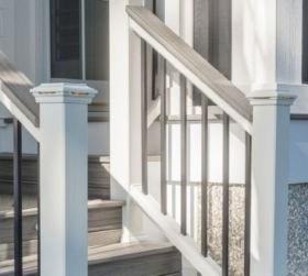 Trex Transcend® Composite Deck Railing Trex   Long Island Custom Railings   Stair Railing   Aluminum Railings   Stainless Steel   Grano Jr   Staircase