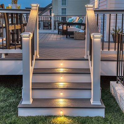 Trex 8 X 42 Select Rail Baluster Kit Stair Order Now   Trex Enhance Stair Railing   Trex Deck Railing Installation   Clam Shell   Lighting   Installation Instructions   Composite Decking