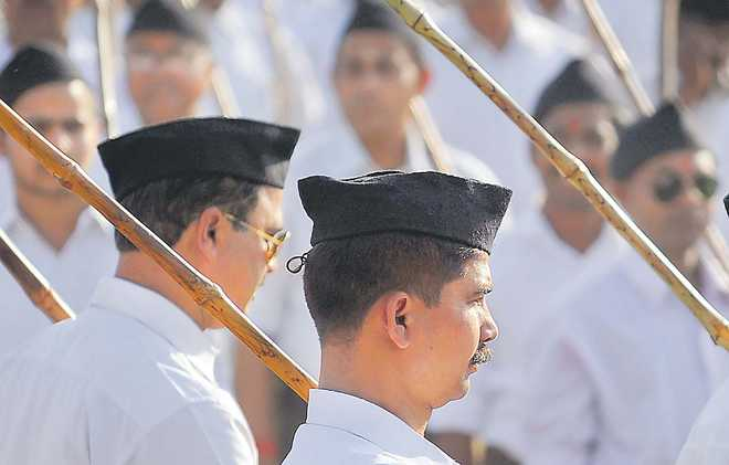 Hinduism at risk from RSS