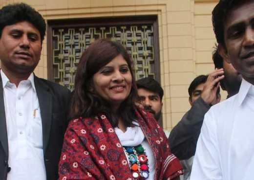 Pak gets first Dalit woman senator