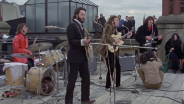 Image result for 1969 – The Beatles' last public performance