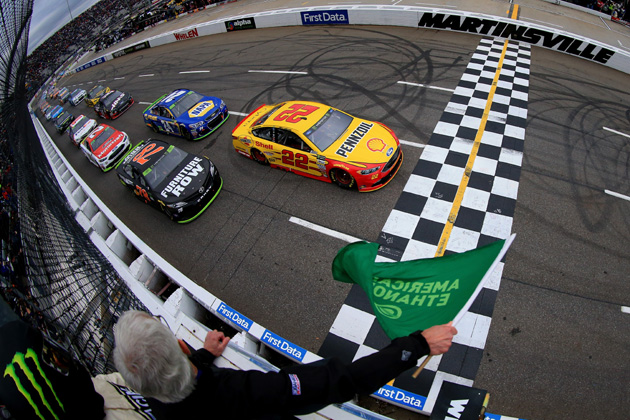 Kyle Busch Wins At Martinsville And Locked Into NASCAR