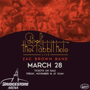 Zac Brown Band Down The Rabbit Hole Live Wsm Fm1