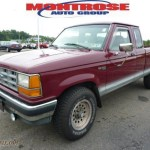 1992 Ford Ranger Xlt Extended Cab 4x4 In Medium Cabernet Red Metallic Photo 5 A94819 Truck N Sale