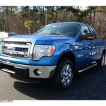2014 Ford F150 Xlt Supercab In Blue Flame A35310 Truck N Sale