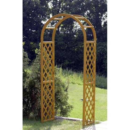 arche pour rosiers schonbrunn en bois h 223cm
