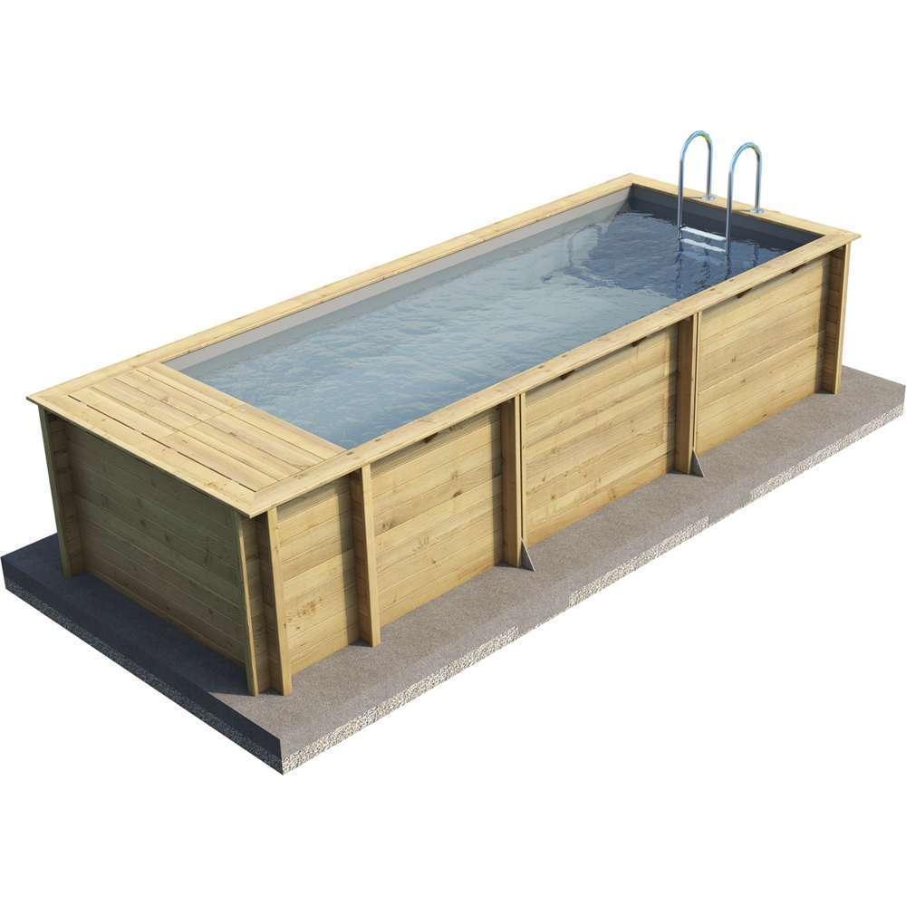 piscine bois pool n box 610x237cm