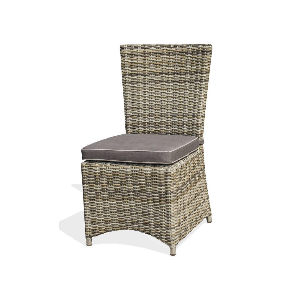 https www truffaut com chaise bali en resine tressee gris 784432 html