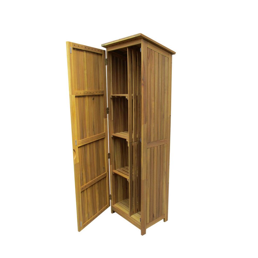armoire gilberte rangement pratique 55x45x180cm