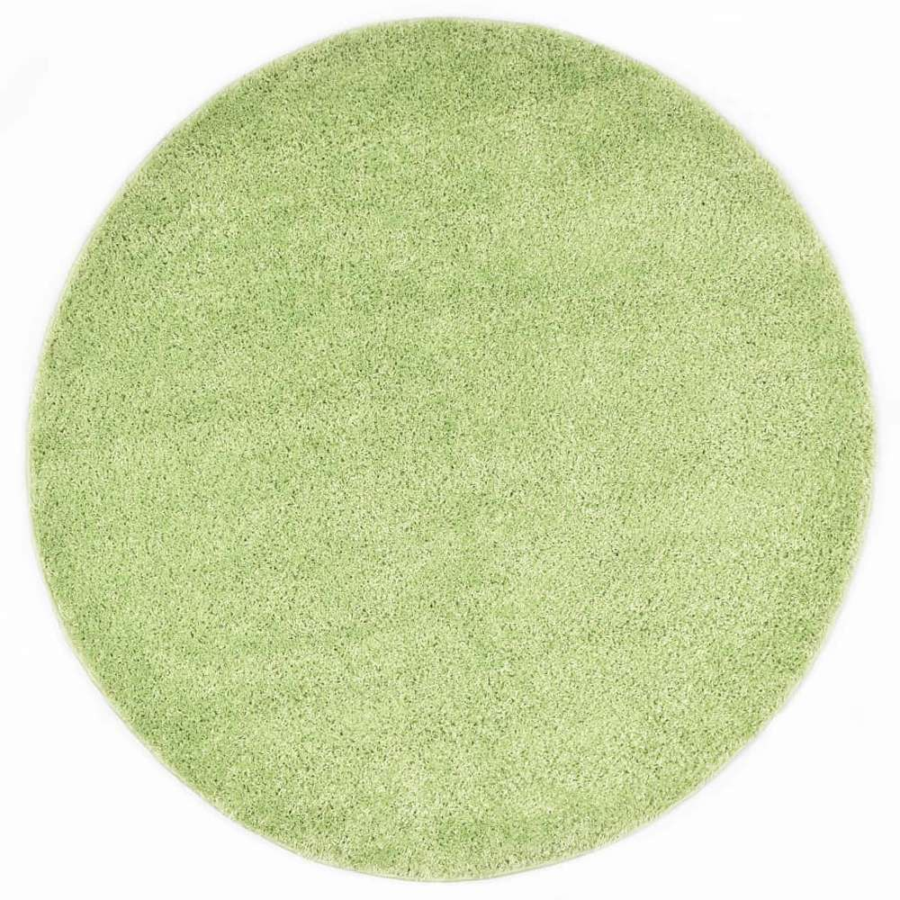 tapis shaggy 160 cm vert