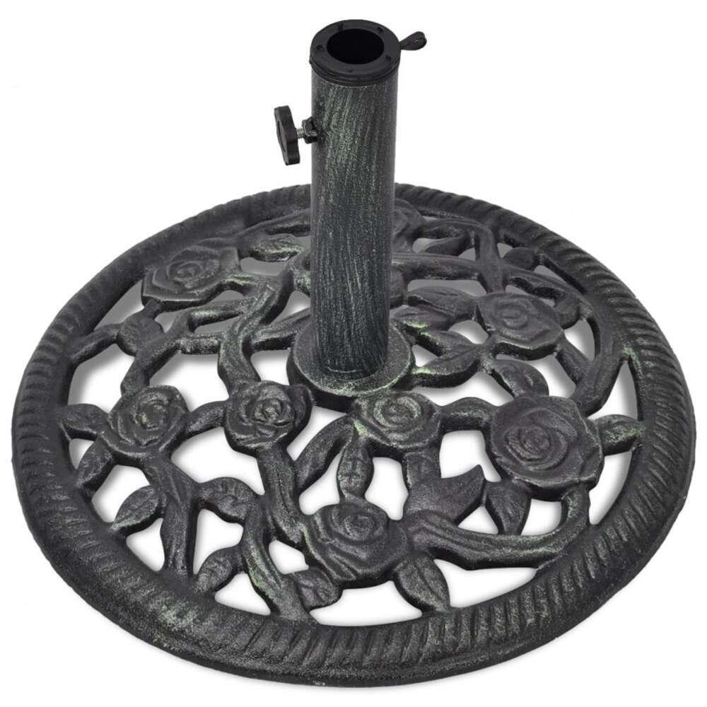 pieds de parasol en fonte en acier a