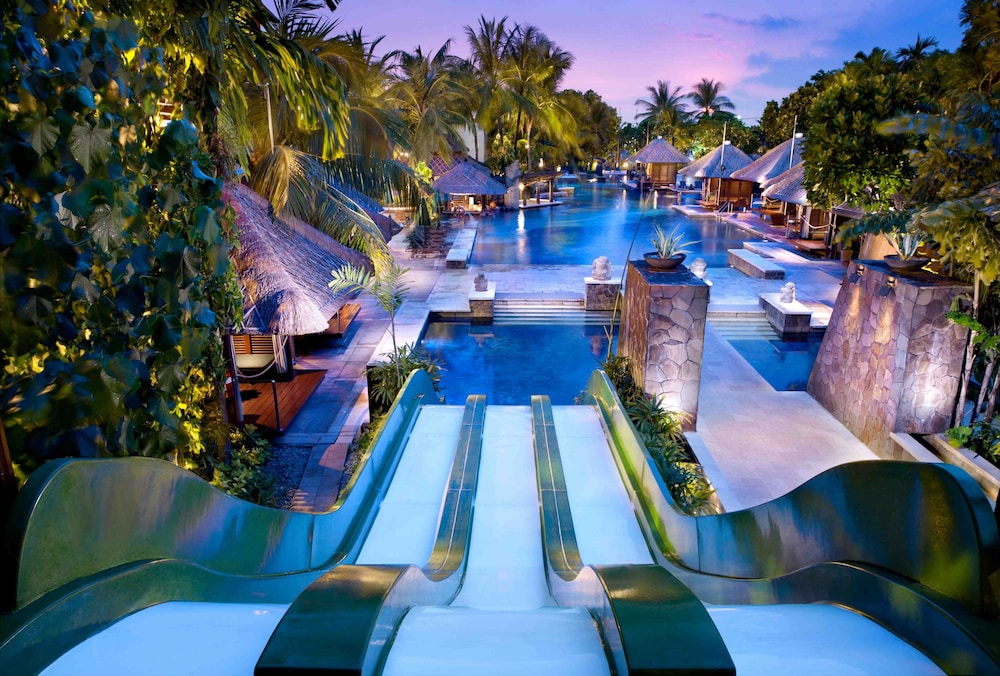 Waterslide at Hard Rock Hotel Bali