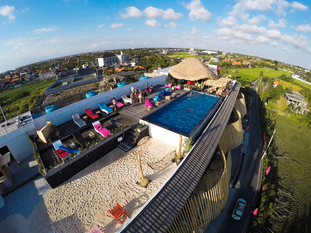 Rooftop of KOA D'Surfer Hotel