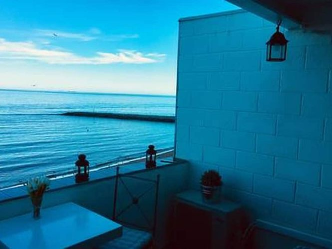 A Bright Modern Studio Apartment With Private Balcony Oerlooking Sandy Bay Gibraltar 2019 Hotel Prices Expedia Co Uk