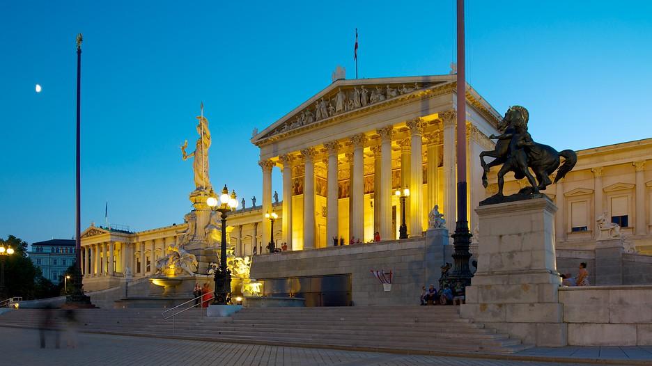 Austrian Parliament Building In Vienna Expedia