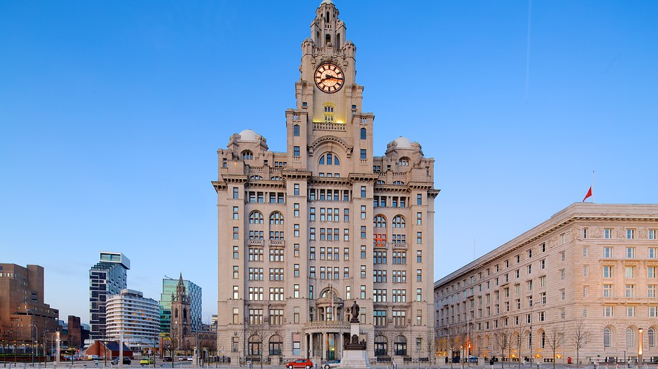 Image result for Royal Liver Building in Liverpool, United Kingdom