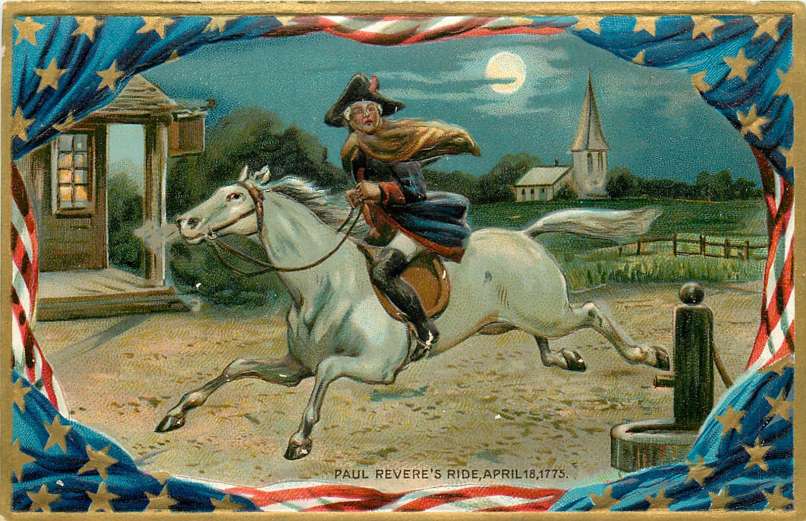 Paul Revere S Ride April 18