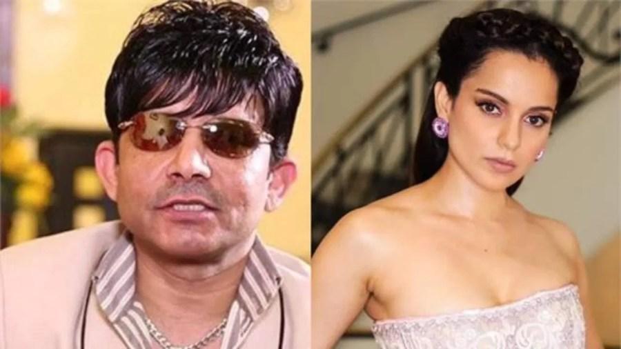 KRK targeted the factionalism of Bollywood stars on Aryan Khan case, praised Kangana for this