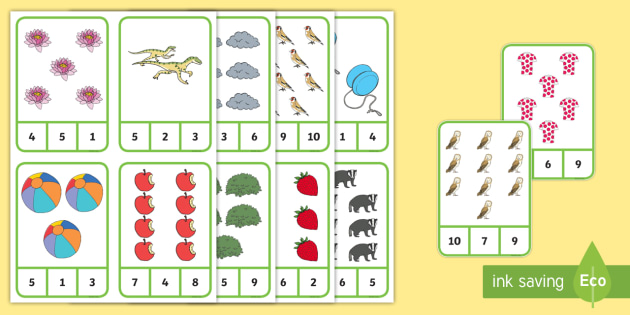 Number Recognition To 10 Activity Maths Primary Resources