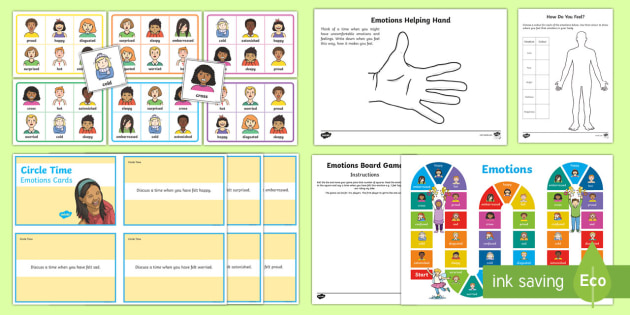 Mindful Me Emotions Activity Pack Teacher Made